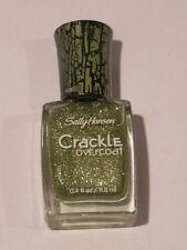 SALLY HANSEN CRACKLE OVERCOAT #11 SAGE SMASH