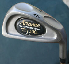 Tommy Armour Ti 100 Pure Titanium 6 Iron Original Light Flex Graphite Shaft