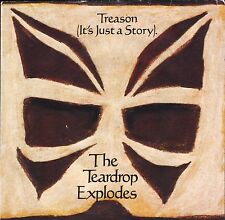 "THE TEARDROP EXPLODES treason (it's just a story)/use me TEAR 3 uk 7"" PS EX/EX"