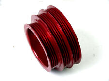 OBX UNDERDRIVE CRANK PULLEY CIVIC 99-00 B16A  Red