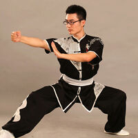 Top Quality Silk Chinese Kung Fu Uniform Martial Arts Performance Suits