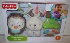 Fisher-Price Forest Friends Gift Set Toys For Baby Teething Rattle NEW