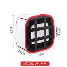 Kamerar D-Fuse Medium DF-1MW White LED Light Panel Softbox: 9 in x 9 in Opening
