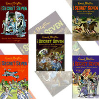 Secret Seven Collection by Enid Blyton 5 Books New Set 6-10-Secret Seven Mystery