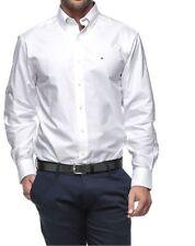 Tommy Hilfiger Men's Regular Solid Button-Down Dress Shirts