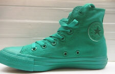 342 CONVERSE SCARPA UOMO/DONNA HI CANVAS MONOCHROME GREEN 152701C EUR 40 UK 7