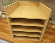 Hand Crafted Freestanding Mdf A4 Paper Storage unit