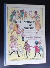 Superbe album Reliure La semaine de Suzette 1936 TRES TRES BON ETAT