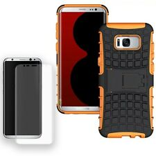 Hybrid Coque Protectrice 2teilig Orange Pour Samsung Galaxy S8 Plus G955F+