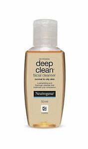 Deep Clean Facial Cleanser Neutrogena (50ML) - Free Shipping Worldwide