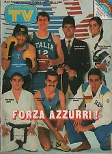 SORRISI E CANZONI TV 1984 speciale olimpiadi miguel bosè gino paoli jo squillo