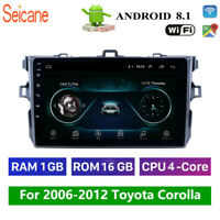 9'' 2Din Android 8.1 Car Radio For Toyota Corolla 2006-2012 GPS Navigation Stero