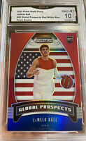 2020 Panini Prizm Lamelo Ball Rookie Red White Blue Global SP Gem MINT 10 ROY