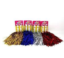 4Stück Cheerleading Pompons Cheerleader Pompon Tanzwedel Puschel Pom Pon Puschen