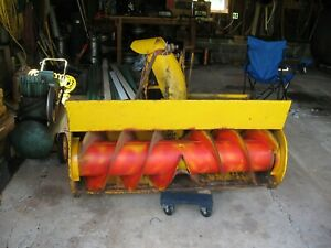 """Economy Power King Tractor 48"""" Snow Blower & Mule Drive"""