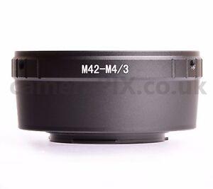 M42 Lens to Micro Four Thirds m4/3 camera mount adapter Olympus PEN, Panasonic