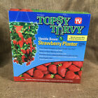 NIB Topsy Turvy Upside Down Strawberry Planter Container Small Space Gardening