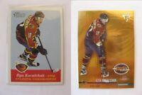 2001-02 Topps Heritage #138 Kovalchuk Ilya  RC  trashers