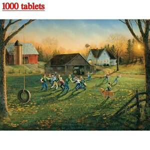 Educational 1000 Piece Jigsaw Puzzles Creative Print Home Adults Kids Toy Gifts