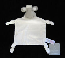 Doudou plat Mouton Agneau blanc et gris étoiles Primark Early Days Baby Blanket