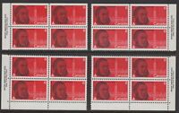 CANADA #517 6¢ Sir Oliver Mowat Match Set Plate Blocks MNH