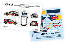 [FFSMC Productions] Decals 1/43 VW Polo R WRC  Skoda Rallye Liezen 2017 winner