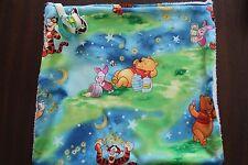 Baby Binky Blanket - Burp Cloth - Pacifier Security Blanket Winnie the Pooh
