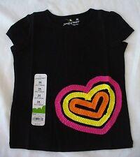 92fb630c5299f Jumping Beans Black 100% Cotton Tops & T-Shirts (Newborn - 5T) for ...