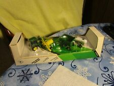 Ertl 1/64 Scale~[John Deer Farm Set]~Tractor With Farm Machinery~4 Piece Sealed!
