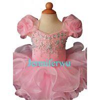 Jenniferwu Infant//toddler//kids//baby//children Girl/'s Pageant//prom Dress G215