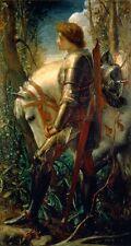 George Frederic Watts Sir Galahad Oil Painting repro