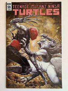 Teenage Mutant Ninja Turtles #59  IDW 2016 1st Jennika Cover Death of Splinter