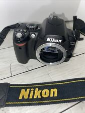 Nikon D40 6.1MP Digital SLR Camera Blk - Body Only, powers-up, untested