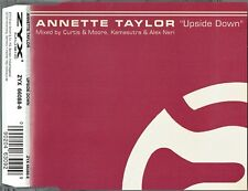 """ANNETTE TAYLOR - 5"""" CD - Upside Down (Curtis & Moore's & Kamasutra Mixes) ZYX"""