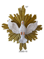 "Espíritu Santo Para Pared 10"" Holy Spirit  Wall Statue , New"