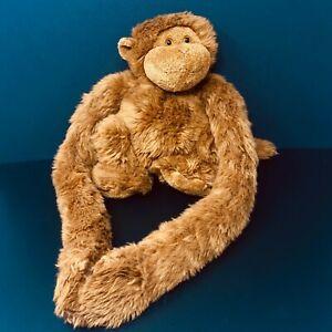 Animal Alley Monkey Plush Brown Hanging Long Arms Gorilla Chimp Ape Toys R Us