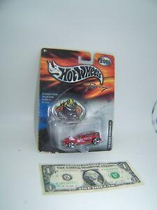 Hot Wheels Racing Red Demon - Ford Motorcraft - Nascar  - 2001