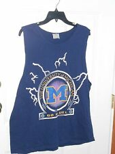 MICHIGAN WOLVERINES TANK TOP ADULT LARGE