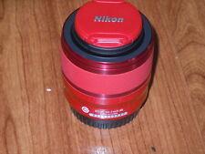 Genuine Nikon 1 NIKKOR VR 30-110mm f/3.8-5.6 Lens #3312 RED for One 1 J1 J2 J3