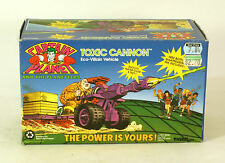 Captain Planet And The Planeteers Toxic Cannon Eco-Villain Disaster set MIB