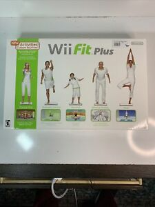 NEW! Nintendo Wii Fit Plus With Balance Board And Game - Brand New SEALED BOX!