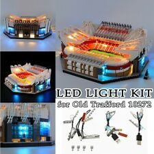 LED Light Kit for Lego 10272 Old Trafford Building Blocks Toys Bricks