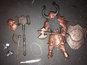 Mythic Legions Cavern Dwarf Copper Figure Four Horsemen 4H Advent Of Decay Dnd