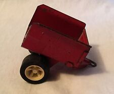 Vintage Small Red Tonka Single Axle Utility Trailer For Tractor / Mower #1