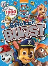 PAW Patrol Sticker Burst Sticker Book (Paperback) over 1000 Stickers