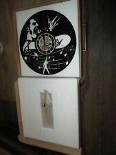 Freddie Mercury-Horloge forme vinyle 33 tours souple-Neuve-30 cm+Bd Bob Dylan
