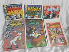 Madman Adv 1,2 gold foil ashcan, Madman comics 1-3 NM