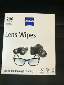 ZEIZZ Pre Moist Lens Wipes Individual Sachets for All Optical Surfaces
