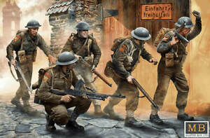 MAS3585 - Masterbox 1:35 - WWII British Infantry, Western Europe