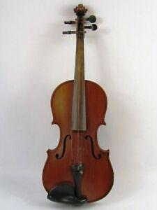 Vintage Violin, Unknown Brand, Solid, 3/4 Antique Violin